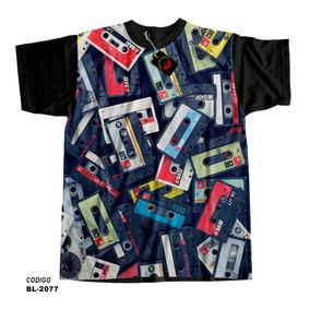 cc26eb9a31 Camiseta Fita Cassete Retro - Camisetas e Blusas no Mercado Livre Brasil