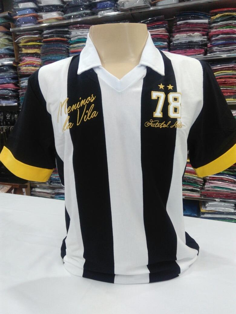 e71c721290 camisetas santos marca retrô oficial meninos da vila ano 78. Carregando  zoom.