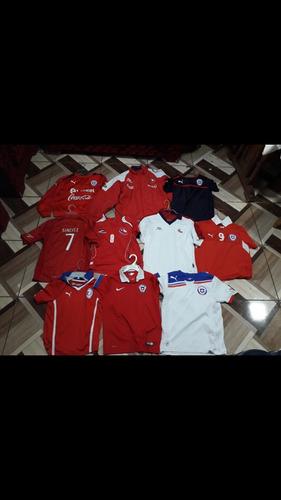 camisetas seleccion chilena niños