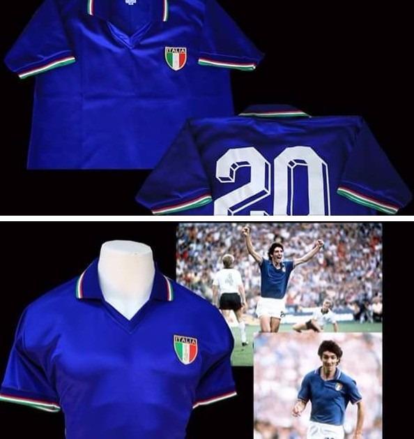 camisetas selección italia · selección italia camisetas · camisetas  selección italia 1982 rossi tardelli baresi conti a180cebf910c7