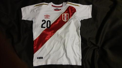 camisetas seleccion peruana dorada  unisex y niños