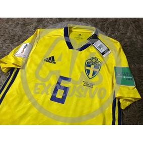 d1e11b943efb3 Camiseta Suecia Mundial 2018 - Fútbol en Mercado Libre Argentina