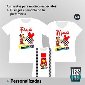 diseño hábil precio de calle bien conocido Camisetas Set 3 Cumpleaños Mama Papa Y Fiestas Personalizada