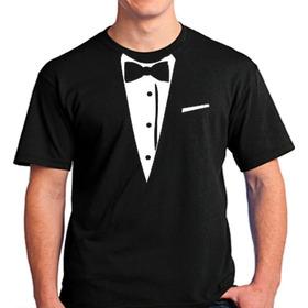 Camisetas Smolking Terno
