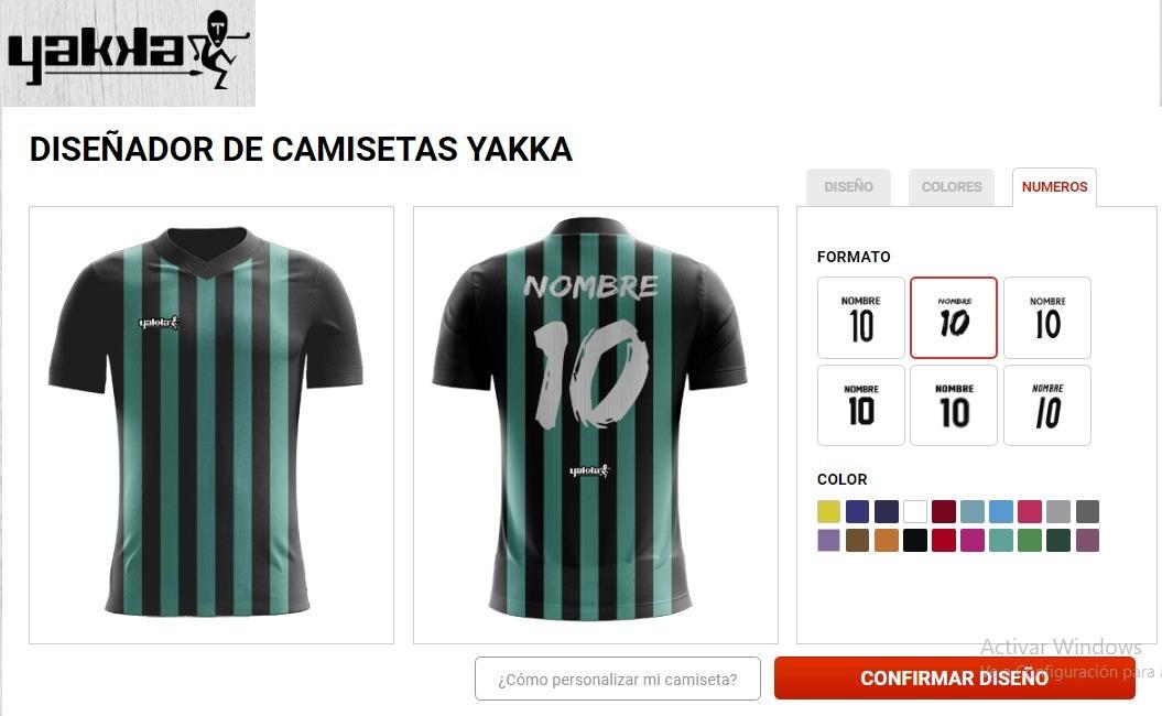 9b33411378b1f camisetas sublimadas de futbol yakka. Cargando zoom.