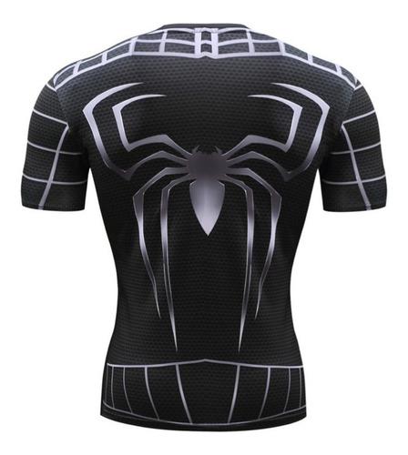 camisetas súper héroes sublimadas 3d apegadas al cuerpo