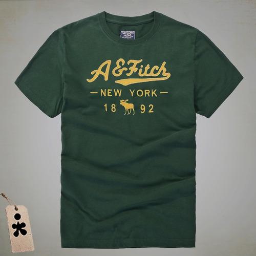 camisetas t-shirt abercrombie y hollister 3 unidades