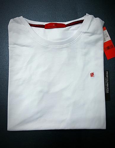 camisetas t-shirt cuello redondo carolina herrera