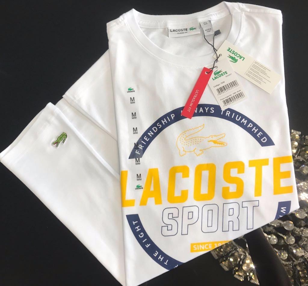 camisetas t-shirt lacoste peruana original 20 unidades. Carregando zoom. 473bb2a38b
