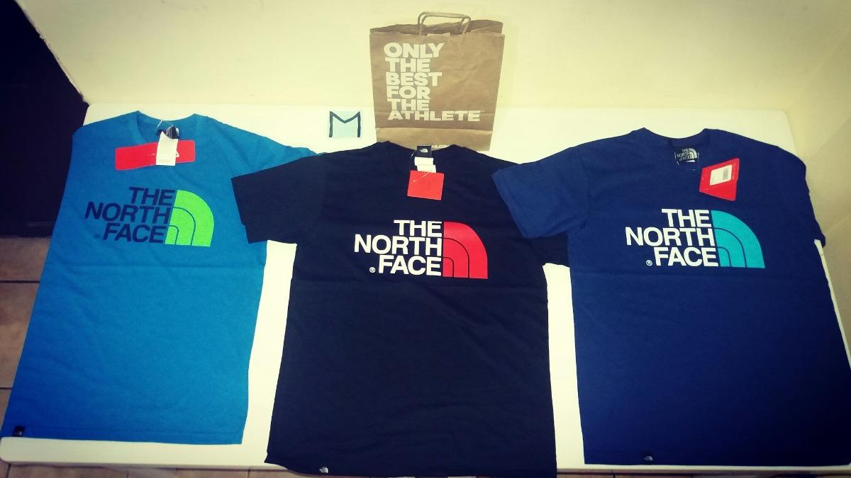 north face camisetas