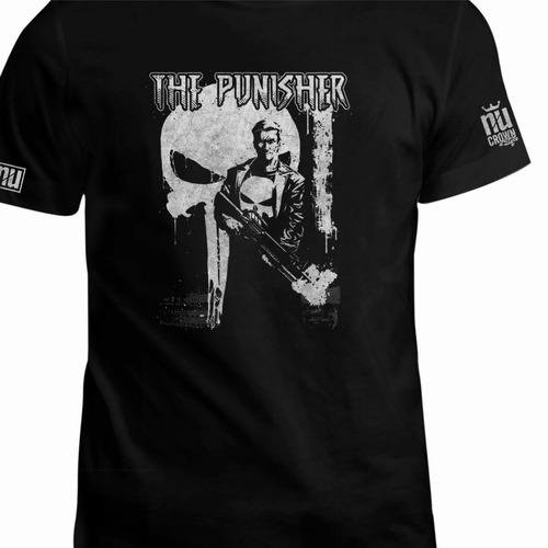 camisetas the punisher el castigador caravela comics eco