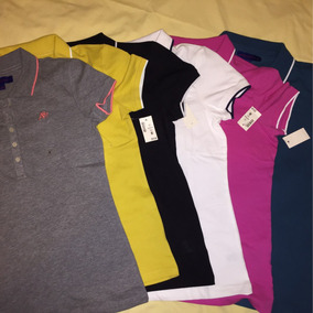 4b02756b7ad Camisetas Polo Dama - Camisetas de Mujer en Mercado Libre Colombia