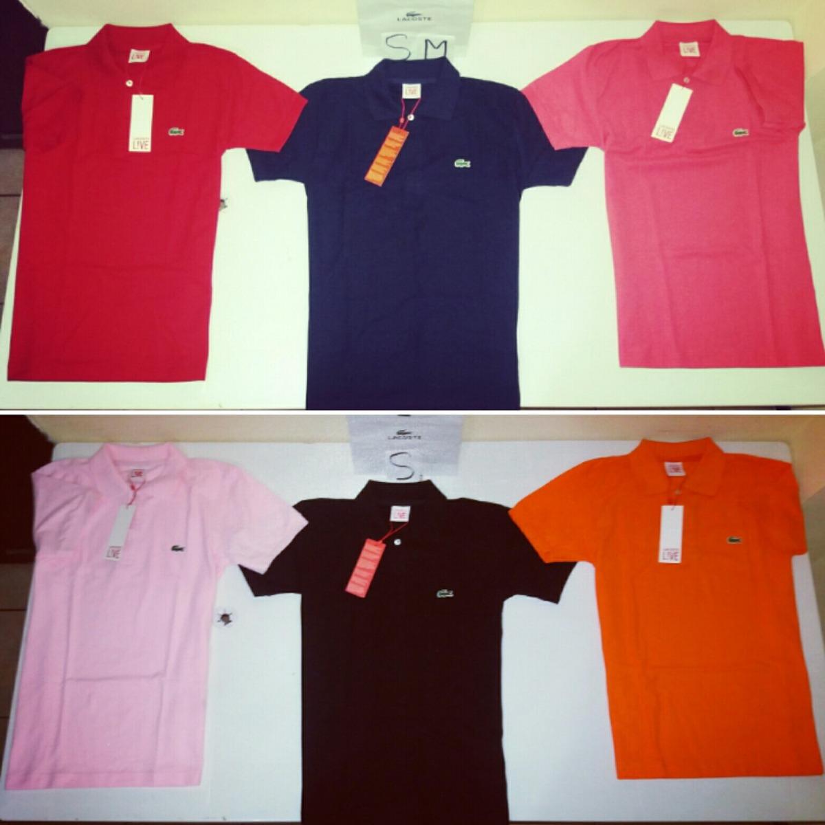 camisetas tipo polo lacoste live clasicas original y nuevas. Cargando zoom. a065f23715410