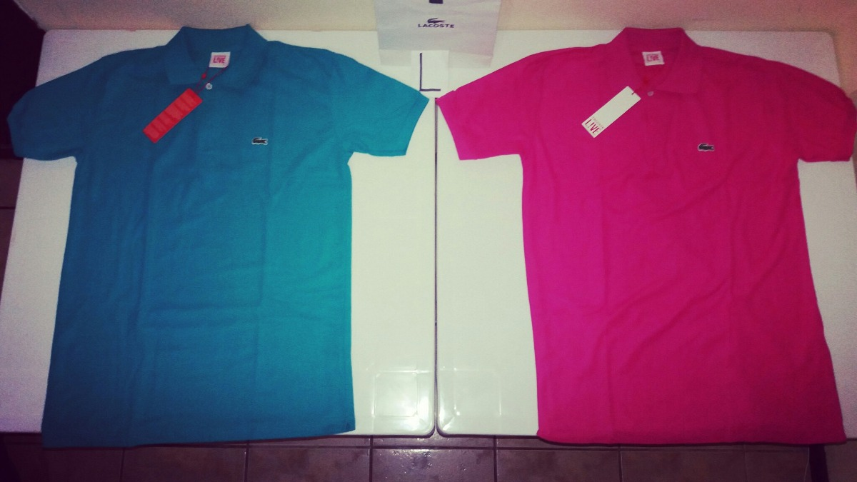 camisetas tipo polo lacoste live clasicas original y nuevas. Cargando zoom. 055ae4e593