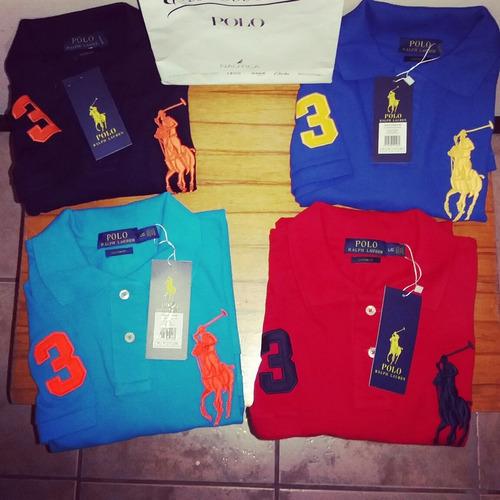 camisetas tipo polo ralph lauren modernas y rayas originales