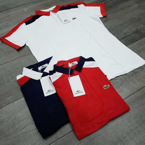 camisetas tipo polo tela fria