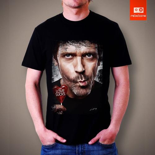 camisetas tv e seriados - doctor house dr. house