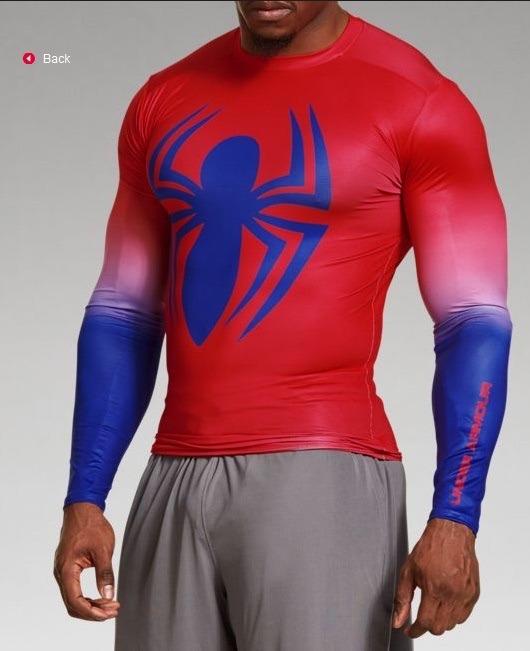9111d1e734b Camisetas Under Armour Alter Ego Super Heroes Spider Man -   79.999 ...