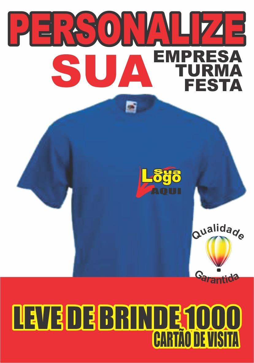 ebbde7bce5 Carregando zoom. ee195f7c5beb59  camisetas uniforme de sua empresa com logo  estampada 20unid. Carregando zoom.