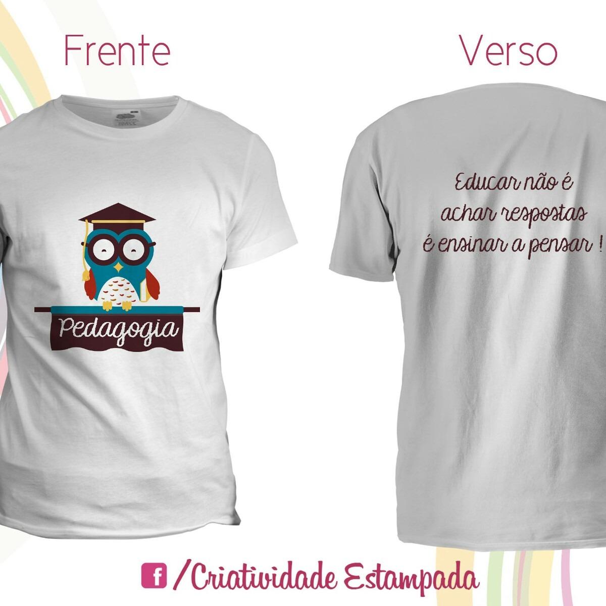 5e4fe16660895 camisetas universitárias pedagogia. Carregando zoom.