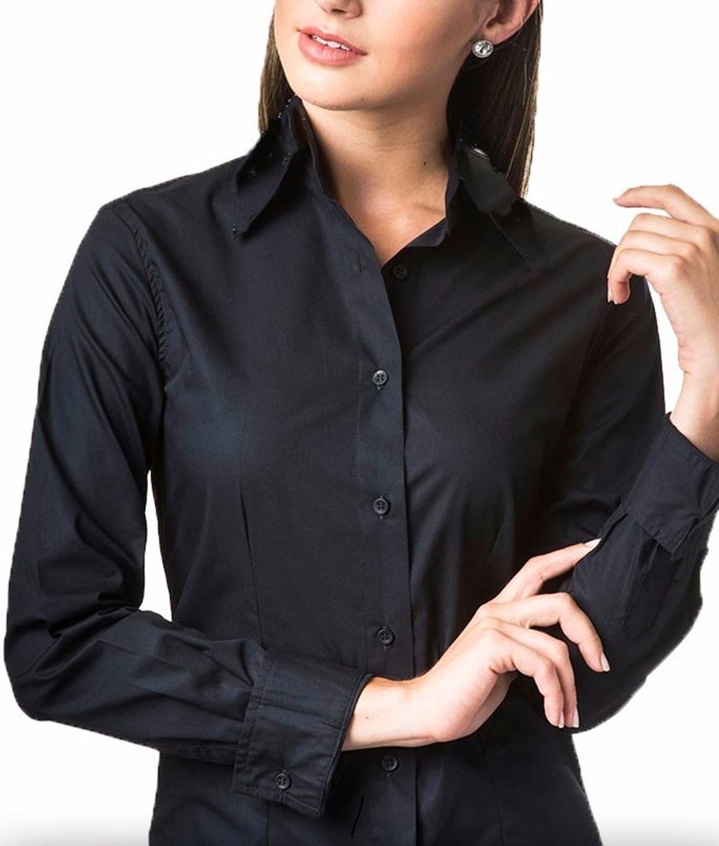 85fcc47de camisete camisa branca social feminina m longa. Carregando zoom.