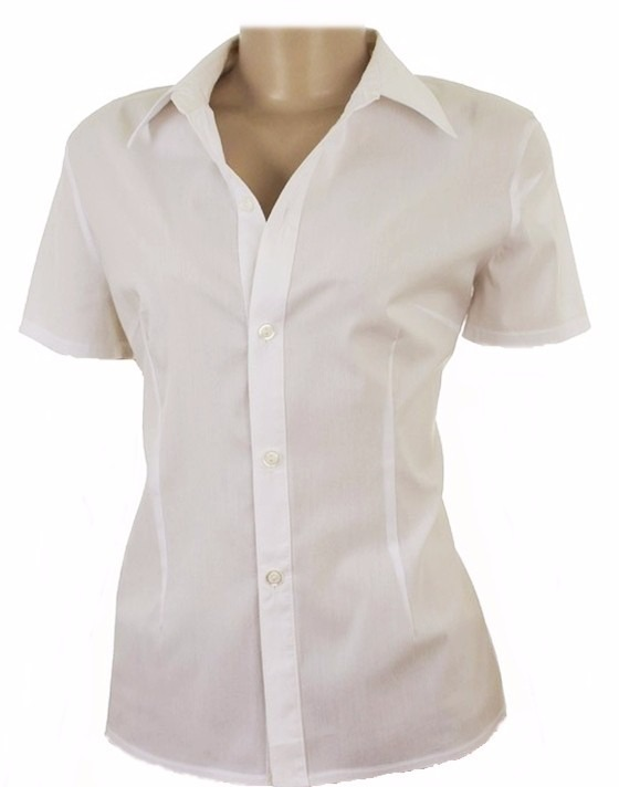 d6b08a8f01 Camisete Camisa Feminina Gabardine Elegance Uniforme - R  33