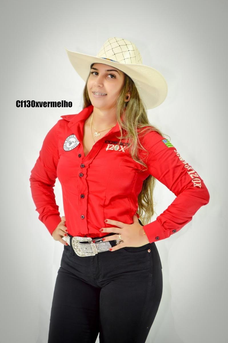 camisete country cowboy 120x vermelha. Carregando zoom. f32ea5b2b00