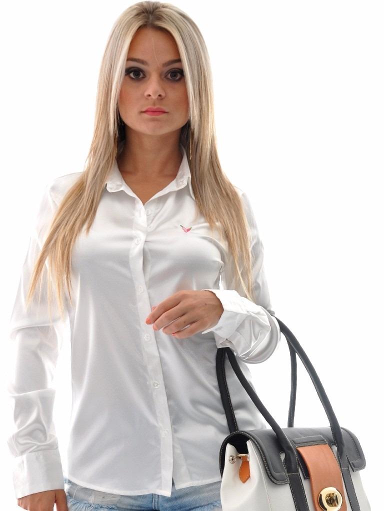 e2b2ba0b7e camisete feminina cetim branco c elastano plus size camisa. Carregando zoom.