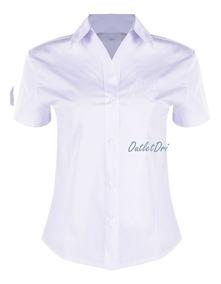 b67d218030ea Camisa Feminina Acinturada Tricoline - Calçados, Roupas e Bolsas com o  Melhores Preços no Mercado Livre Brasil