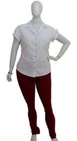 c1dbcb24e Camisa Casual Curta Femininas em Cajamar com o Melhores Preços no Mercado  Livre Brasil