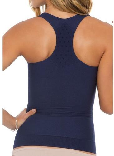 camisete stretch regata modeladora plie 60370 poliamida