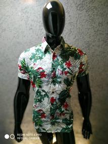 022e7e683b Camisa De Botão Estampa Flamingos Frete Gratis - Camisas Masculinas ...