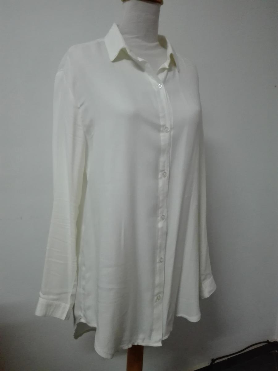 99302c800ca1d camisola camisa larga de mujer blanca rayon. Cargando zoom.