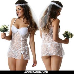 3812dc944 Camisola Branca Noiva - Moda Íntima e Lingerie em São Paulo no ...