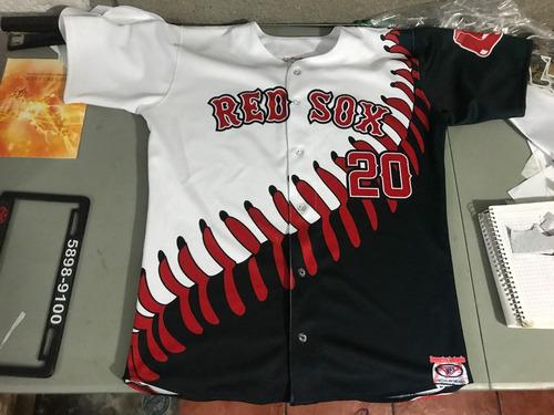 camisola  de beisbol sublimada