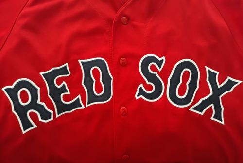 camisola jersey boston red sox medias rojas bordada nacional
