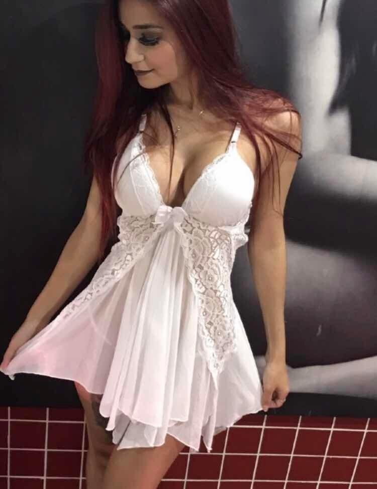 d2d180f3f Camisola Luxo Bojo Noiva Noite Núpcias Sexy Lingerie Top - R  98