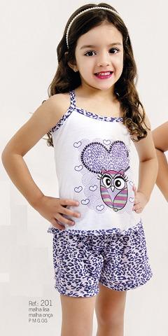 aea8303fb Camisola Ou Baby Doll Infantil Atacado 30 Peças - R  390