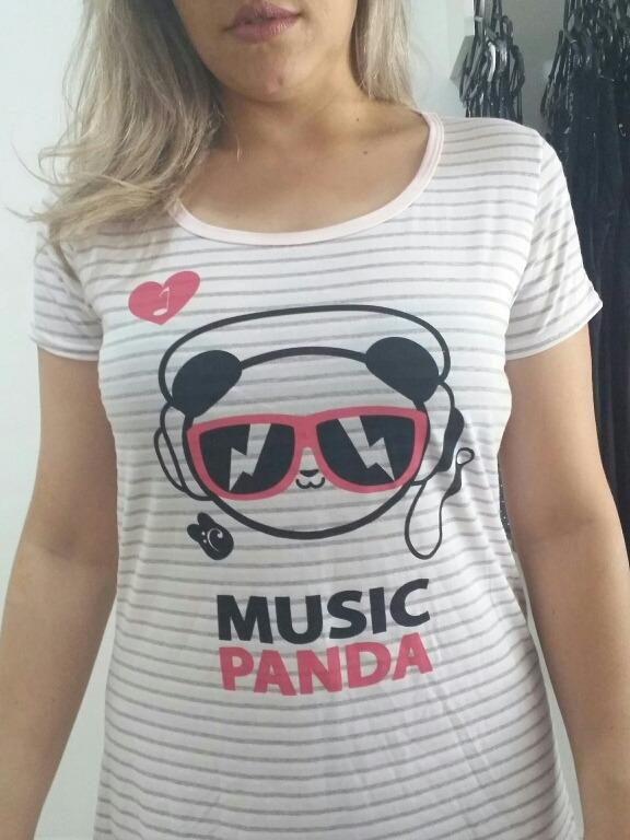 4dcba6cbd Camisola Panda Lojas Marisa - R  23