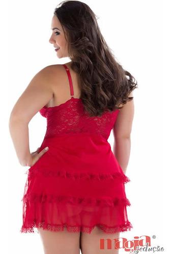 camisola plus size gordinha vermelha ou azul - tam 48 50 52