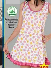 ab7b7cecd4 Camisola Plus Size Algodao - Moda Íntima e Lingerie no Mercado Livre Brasil