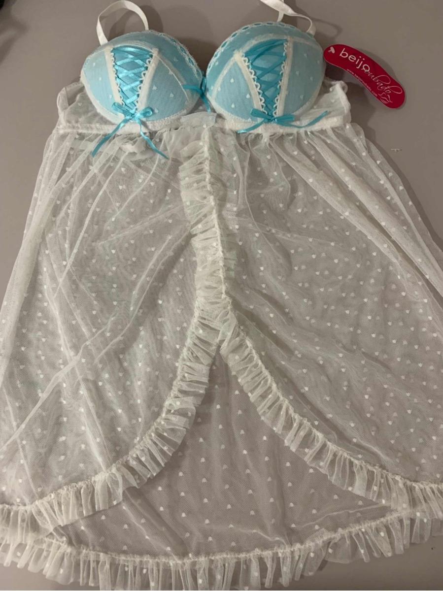827a02365 Camisola Sensual Sexy Feminina Bojo - R  17