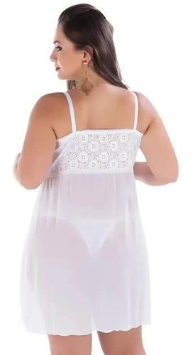 camisola sex plus size gg 48 50 52  [ lingerie sensual ]