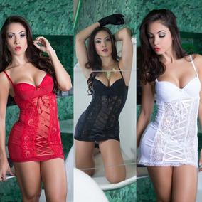 7ac3076e1 Camisolas Sexys Com Bojo Curtas - Moda Íntima e Lingerie no Mercado ...