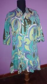43e0c3cb6 Camisola Vestido Hipie Chic Talle S