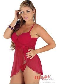 3983735cd88551 Camisolas Sensuais Olivia Vermelha Bojo Lindas | Sensual