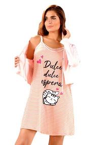 a40fff5be Camison Maternal Con Mañanita Lencatex en Mercado Libre Argentina