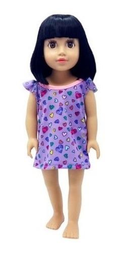 camison ropa muñecas 45 cm/18 pulg witty girls