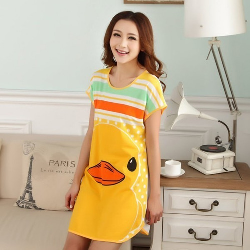 camisones dama moda asiática kawaii gato panda envío gratis
