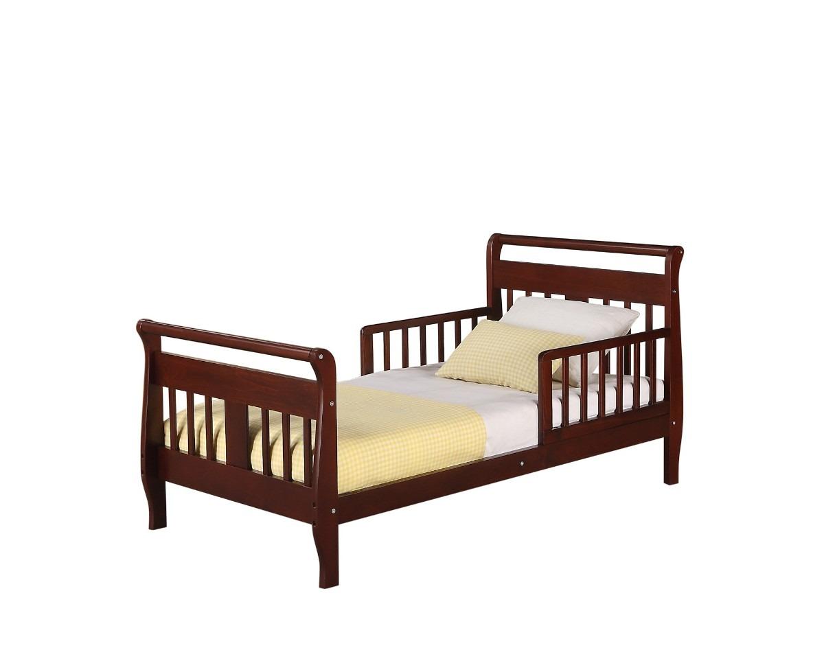 Camita cama infantil madera cereza nogal chocolate blanca for Cuanto cuesta una recamara completa